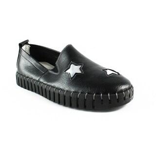 Bernie Mev Womens Billy-Bronze-29 Black001 Loafers Size 4