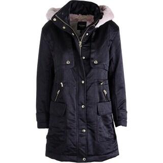 Juicy Couture Black Label Womens Lux Fur Lined Parka - XL