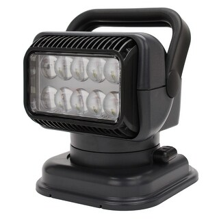 Golight 51494 golight 51494 led portable golight w/wired rmt-charcole