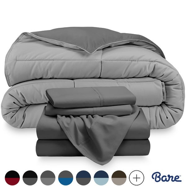 Bare Home Down Alternative Reversible Bed-in-a-Bag. Opens flyout.