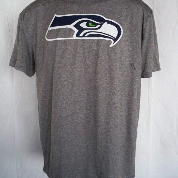 new style 85b61 127d8 Minor Flaw-Seattle Seahawks Youth XLarge (18/20) Gray Athletic Shirt