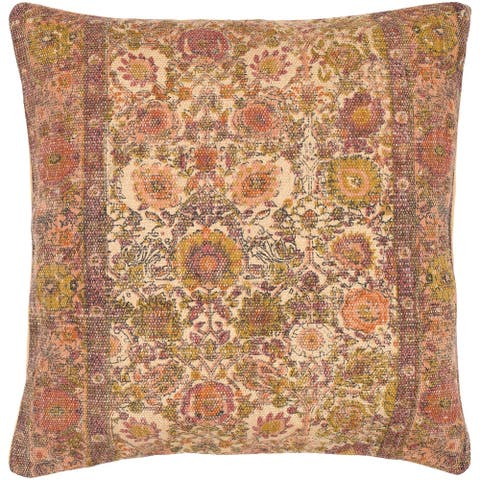 Decorative Lewes Multicolor 30-inch Throw Pillow Cover