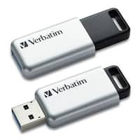 Verbatim 64Gb Store 'N' Go Secure Pro Usb 3.0 Flash Drive With Aes 256 Hardware Encryption 98666