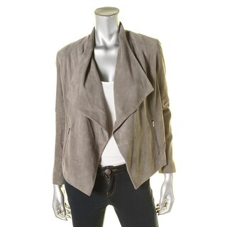 Joie Womens Olivine Open Front Draped Jacket