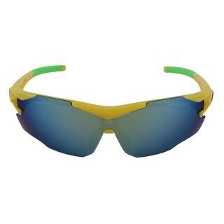 ROBESBON Authorized Unisex Bike Polarized Sunglasses Lens Cycling Glasses Yellow