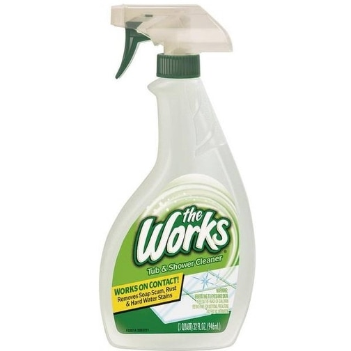 The Works 65320WK Tub & Shower Cleaner, 32 Oz