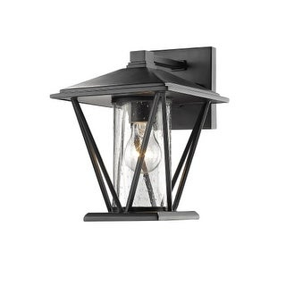 "Millennium Lighting 2520 Single Light 10-1/4"" High Outdoor Wall Sconce with Glass Shade"
