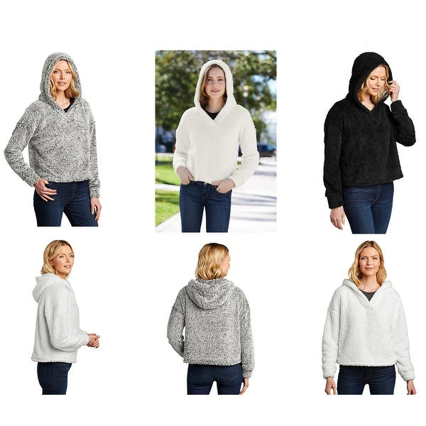 One Country United Women's Cozy Fleece Pullover Hoodie. Opens flyout.
