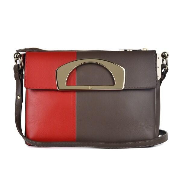 4fef3490e29 Shop Christian Louboutin Womens Passage Ombre Multicolored Messenger ...