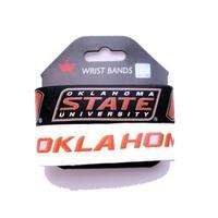 Oklahoma State Cowboys Wrist Band (Set of 2) NCAA