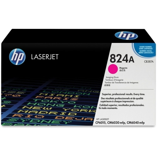 HP 825A Black Original LaserJet Toner Cartridge (CB387A)(Single Pack)