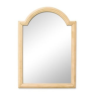 Elements MIR028 Compton Collection 26 x 36 Inch Rectangular Bathroom Vanity Mirror with Arched Top