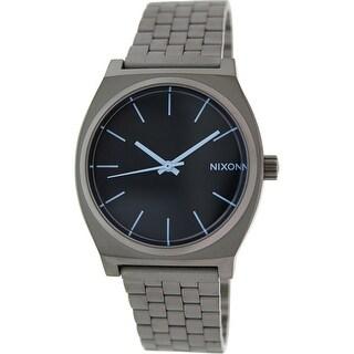 Nixon Women's Time Teller A0451427 Gunmetal Stainless-Steel Quartz Fashion Watch