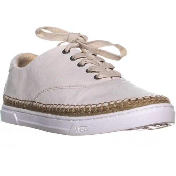 063744aa413 Shop UGG Eyan II Lace Up Espadrilles Sneakers, White - 9 us / 40 eu ...