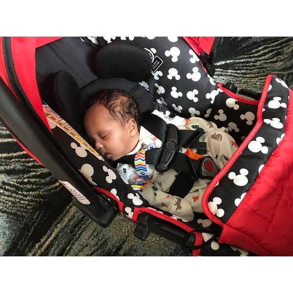 Shop Disney Mickey Silhouette Light N Comfy Luxe Infant Car Seat