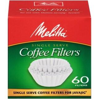 Melitta JavaJig Replacement Filters, 60 Count