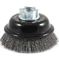 Forney 72856 Industrial Pro Premium Crimped Wire Cup Brush
