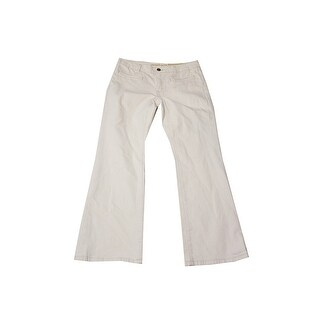 Michael Michael Kors Natural Wash Izzy Cropped Flare Jeans