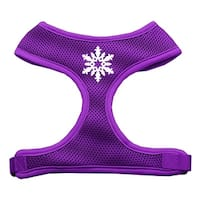 Snowflake Design Soft Mesh Harnesses Purple Large