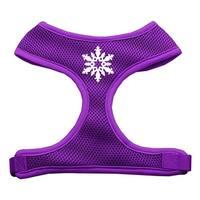 Snowflake Design Soft Mesh Harnesses Purple Medium
