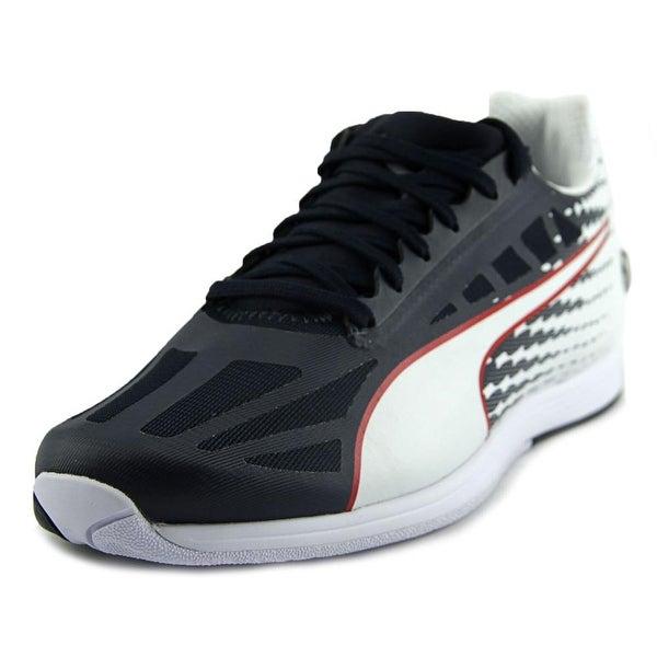 Puma Bmw Ms EvoSpeed Men Round Toe Synthetic Blue Sneakers