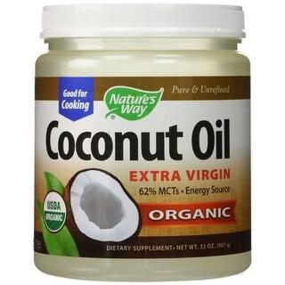 NATURE'S WAY - Organic Coconut Oil 32 OZ