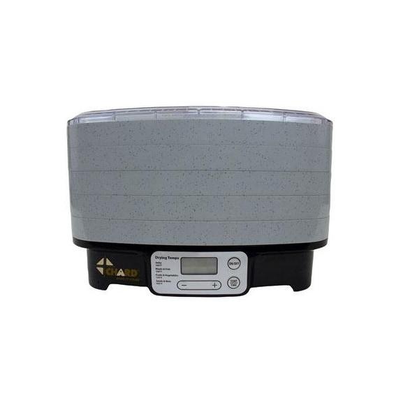 The Metal Ware Corp Dd5s Chard 5 Tray Digital Dehydrator With Rectangular Trays