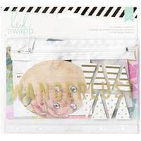 Wanderlust - Memory Binder Flea Market Pouch Kit 27 Pieces