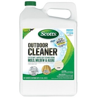Scotts 51501 Concentrate Plus Oxi Clean Outdoor Cleaner, 2.5 Gallon