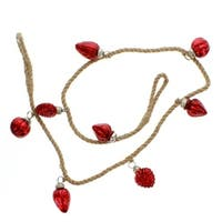 Red Ornament Garland