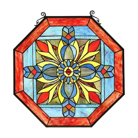 Geometric Design Window Panel/ Suncatcher