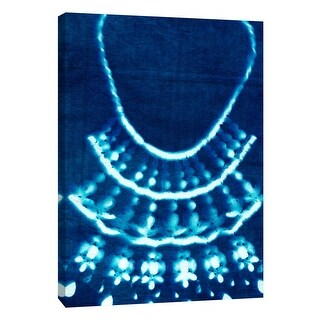 "PTM Images 9-109057  PTM Canvas Collection 10"" x 8"" - ""Cyanotype C"" Giclee Jewelry Art Print on Canvas"