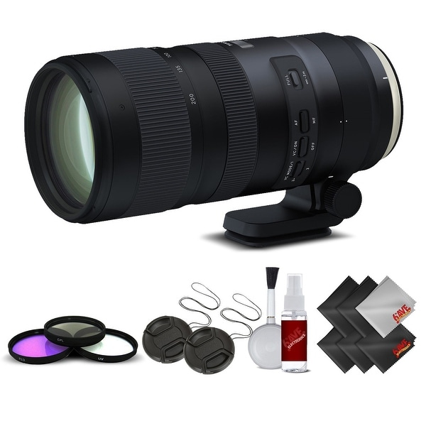 Tamron SP 70-200mm f/2.8 Di VC USD G2 Lens for Canon EF International Version (No Warranty) Base Kit - black