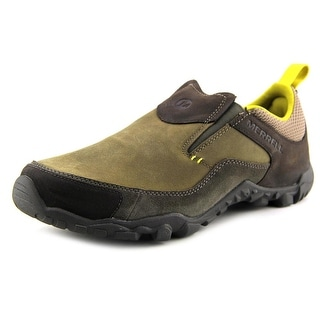 Merrell Telluride Moc Round Toe Leather Loafer