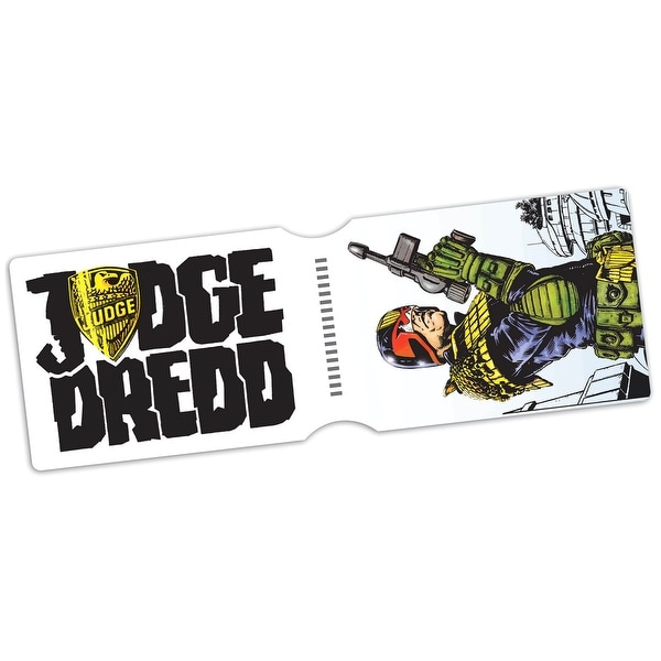 2000 AD Comics Judge Dredd Jaw Breakin' Time Travel Pass Holder - One Size Fits most