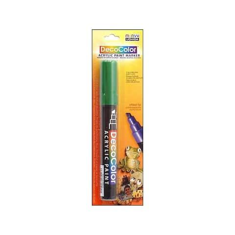 315c-4 uchida decocolor acry paint pen card green