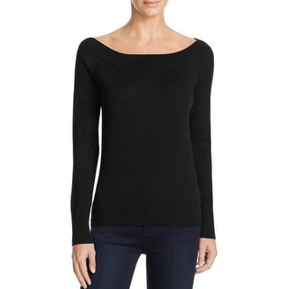 Magaschoni Womens Casual Top Silk Blend Off-The-SHoulder