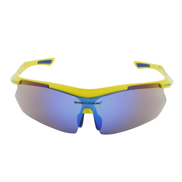 ROBESBON Authorized Unisex Riding Sports Sunglasses Lens Cycling Glasses Yellow
