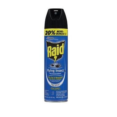Raid 81666 Flying Insect Killer, 18 Oz