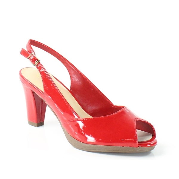 Bella Vita NEW Red LisetII Shoes Size 6.5N Slingbacks Heels