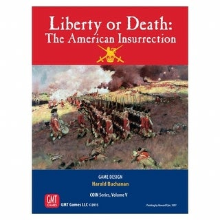 GMT Games GMT1508 Liberty or Death-American Insurrection