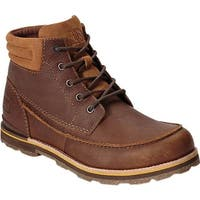 "The North Face Men's Bridgeton 6"" Waterproof Chukka Boot Bone Brown/Arrowwood Yellow"