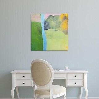 Easy Art Prints Lina Alattar's 'Moon Haze' Premium Canvas Art