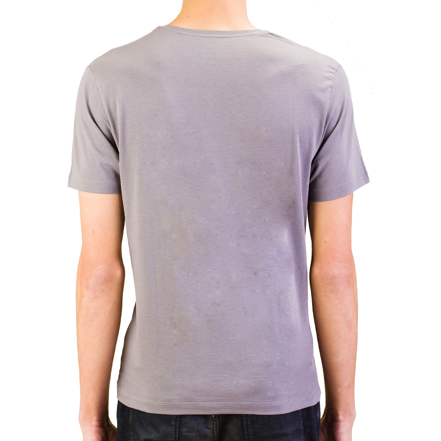 Versace Collection Mens Cotton Medusa Crew Neck T-Shirt