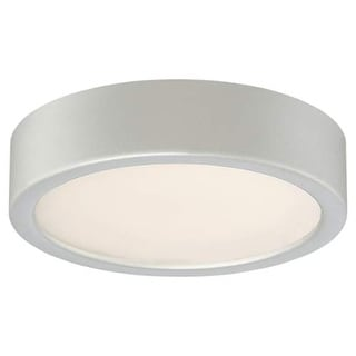 "Kovacs P840-609-L 6"" Wide LED Light Flush Mount from the LED Flush Mounts Collection - Silver"
