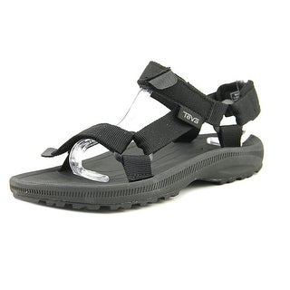 Teva Hurricane 2 Youth Open-Toe Synthetic Black Comfort Sandals Shoes