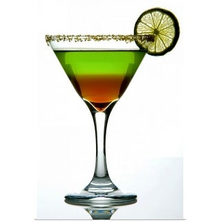 """Studio shot of alcoholic beverage"" Poster Print"