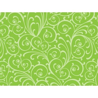 """Pack Of 240, Dashing Swirl Recycled Christmas Printed Tissue Paper 20"""" X 30"""" Sheets Made In Usa"""
