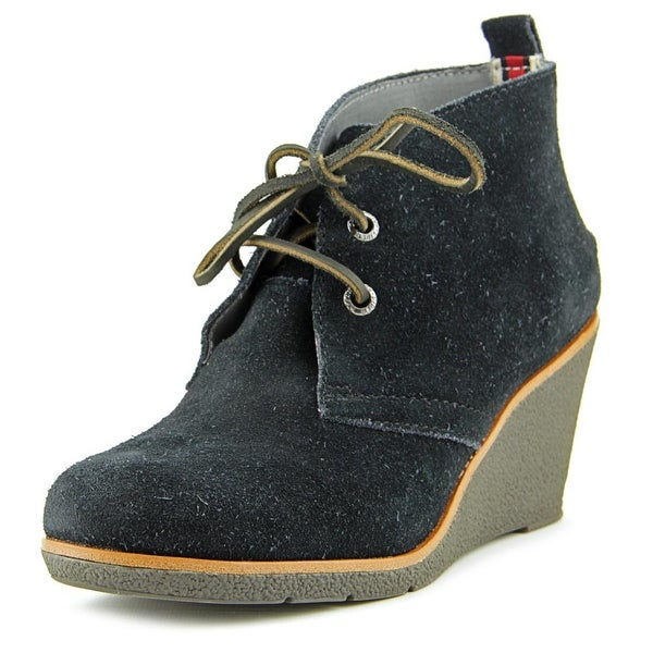Sperry Top Sider Harlow Round Toe Suede Bootie