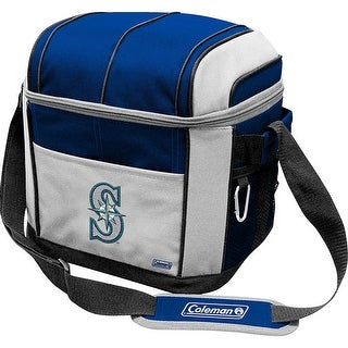 Coleman 24 Can Soft Sided Cooler - Seattle Mariners - Blue/Gray
